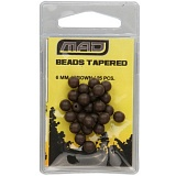 Бусина MAD BEADS - TAPERED 6mm 25шт.