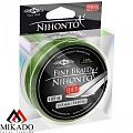 Плетеный шнур Mikado NIHONTO FINE BRAID green 100 м