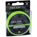 Плетеный шнур Mikado DREAMLINE Competition 0.10 fluo green (10 м) - 8.73 кг.