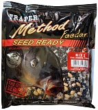Зерновая смесь TRAPER Method Feeder Seed Ready 0.5kg MIX 2 (Соя, конопля, перловка)