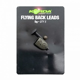 Грузило заднее Korda Safe Zone Flying Backlead Medium 5,0г 5шт