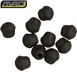 Бусина утяжеленная для Rig Tube MAD TOUCHDOWN ANTI TANGLE TUBE TOP BEADS - BLACK / 10шт.