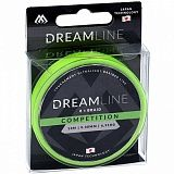 Плетеный шнур Mikado DREAMLINE Competition 0.12 fluo green (10 м) - 10.21 кг.