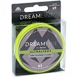 Плетеный шнур Mikado DREAMLINE Ultralight 0.047 fluo green (10 м) - 3.87 кг.