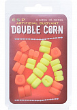 Плавающие приманки E-S-P Buoyant Double Corn 4 size - Orange/Fluoro Yellow - 16шт