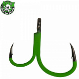 Крючки двойные MADCAT® A-STATIC DEADBAIT GRIPPER Hooks