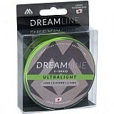 Плетеный шнур Mikado DREAMLINE Ultralight 0.035 fluo green (150 м) 2,53 кг.