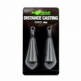 Грузило Korda Distance Casting Swivel Blister 4,0oz 112гр