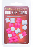 Плавающие приманки E-S-P Buoyant Double Corn 4 size - White/Pink - 16шт.