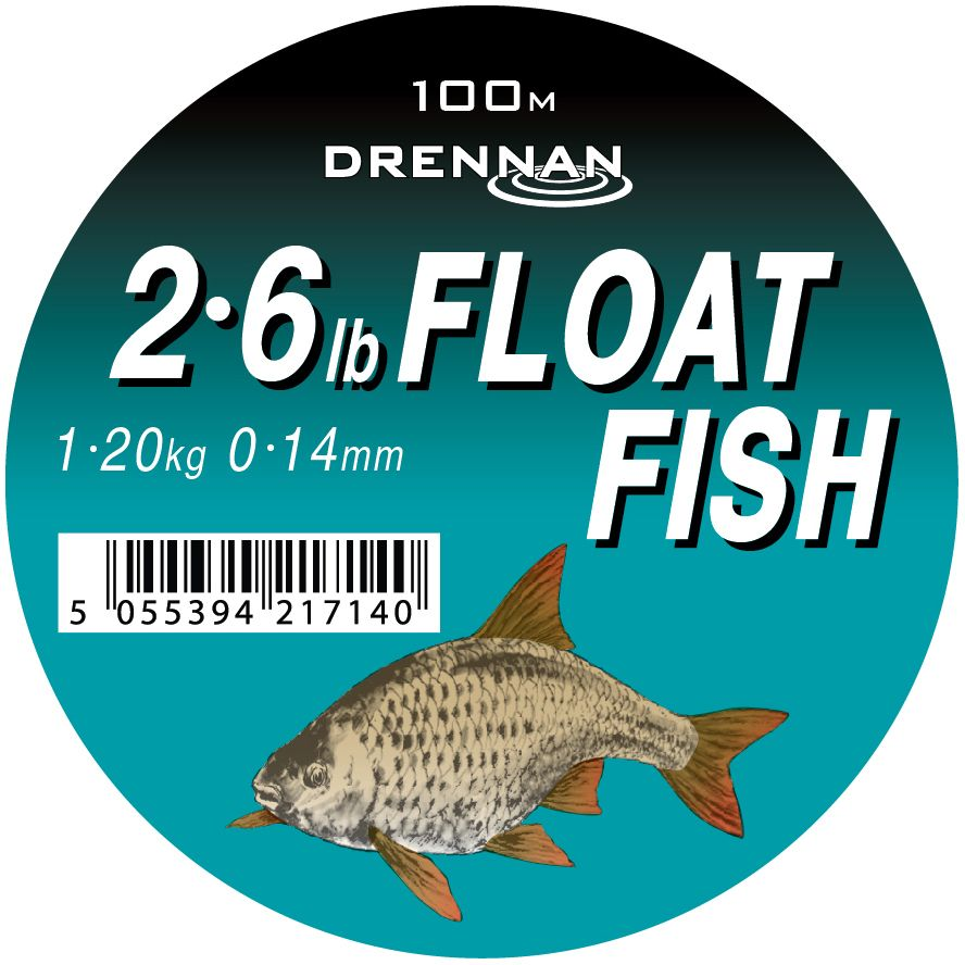 Леска DRENNAN FLOAT FISH Mono - 100m 0.20mm / 2.25kg