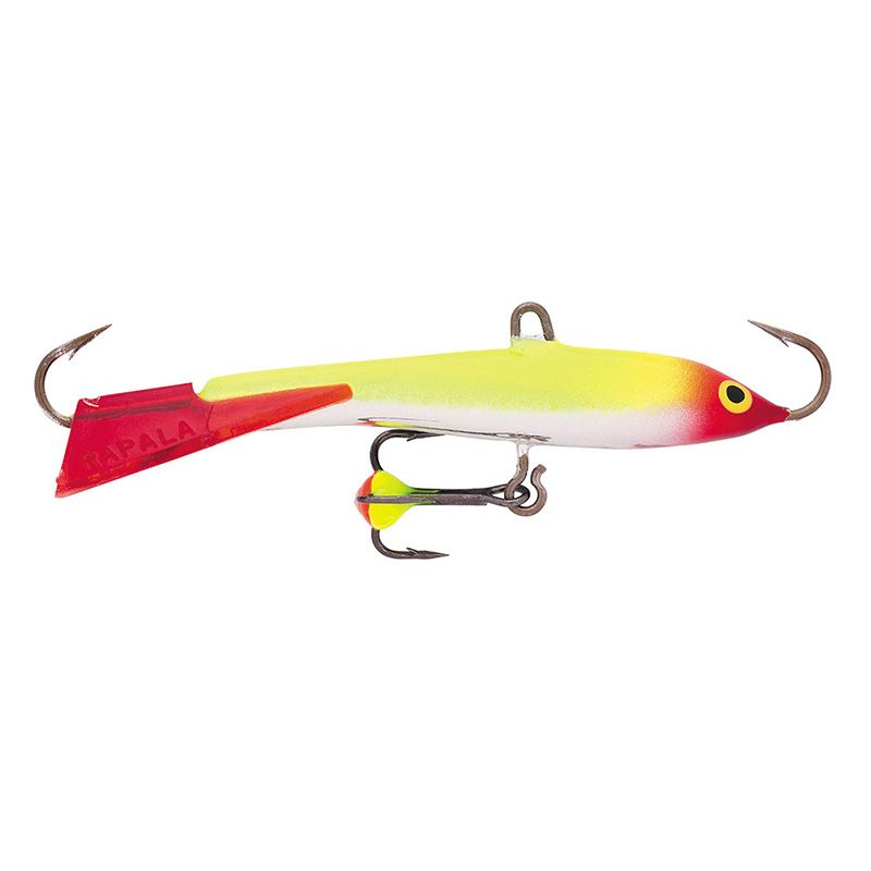 Балансир RAPALA Jigging Rap Color Hook 70мм 18гр цвет CLN