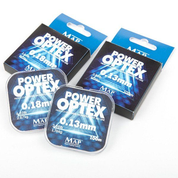 Леска MAP OPTEX Power Rig Line - 100m / 0.12mm / 1.43kg