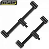 Комплект перекладин для 2 удилищ MAD BLACK ALUMINIUM Buzzer Bar 2 Rod / 2шт.