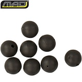 Бусина утяжеленная MAD TOUCHDOWN TAPERED BEADS 6mm - BLACK / 10шт.