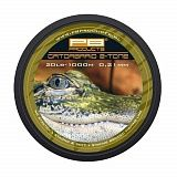 Леска карповая PB PRODUCT PB GATORBRAID 2-TONE  0,26mm 25lb 1000m