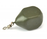 Грузило Carpology SQUARE PEAR Lead Green