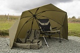 "Зонт-шелтер рыболовный KORUM 50"" GRAPHITE SHELTER"